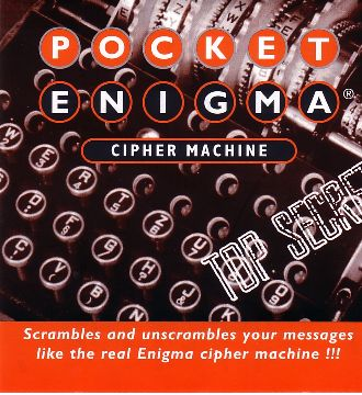 Pocket Enigma front cover.